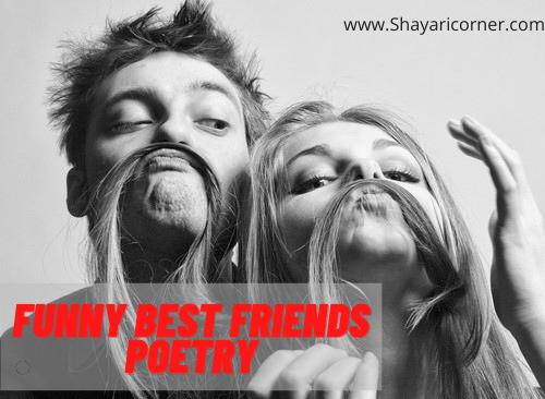Best friends funny shayari