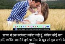 Shayad Me Ek Perfect Vaykti Nahi Hu