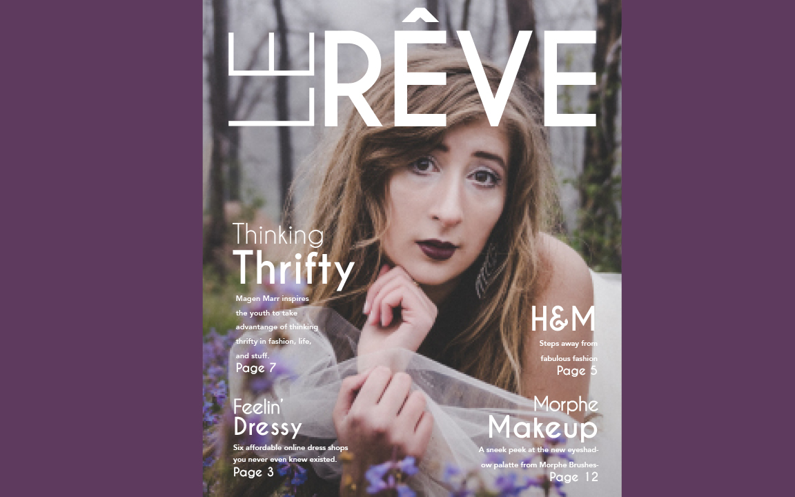 le-reve-graphic-design-shayla-marin-cover
