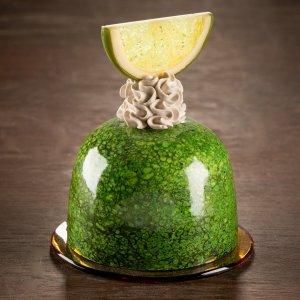 Entremet la citron vert