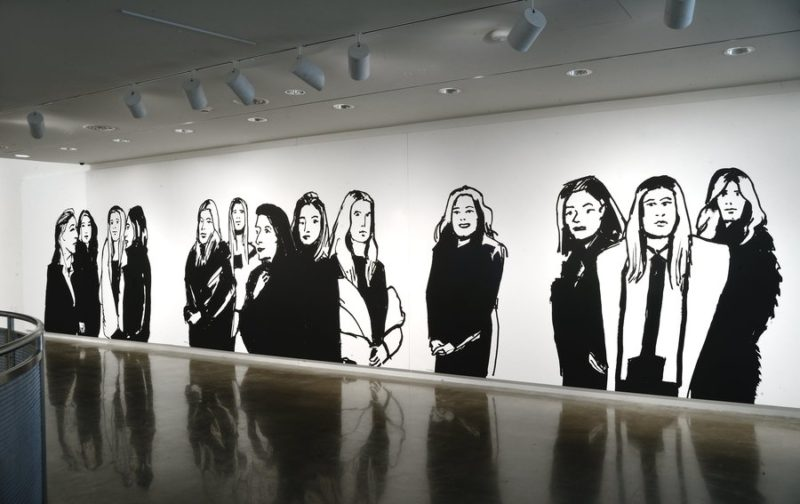 Grandfather of Pop Art explores 'Elegance' of Black and White