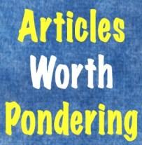 Articles Worth P
