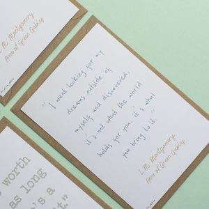 Anne of Green Gables Quotes Postcard Set