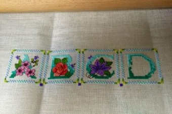 Lesley Teare ABC SAL Sampler