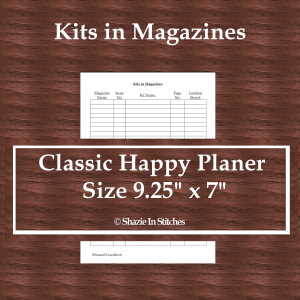 CHP – Kits in Magazines Page
