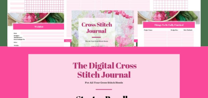 Digital Cross Stitch Journal – Starter Bundle