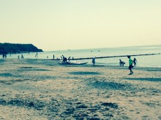 Nice quiet beach