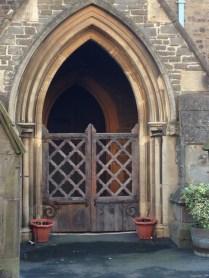 Gate and a door!