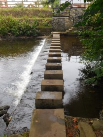 Stepping stones or stepping slabs!