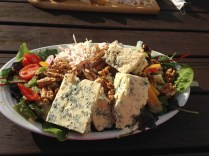 Healthy option Stilton Salad!