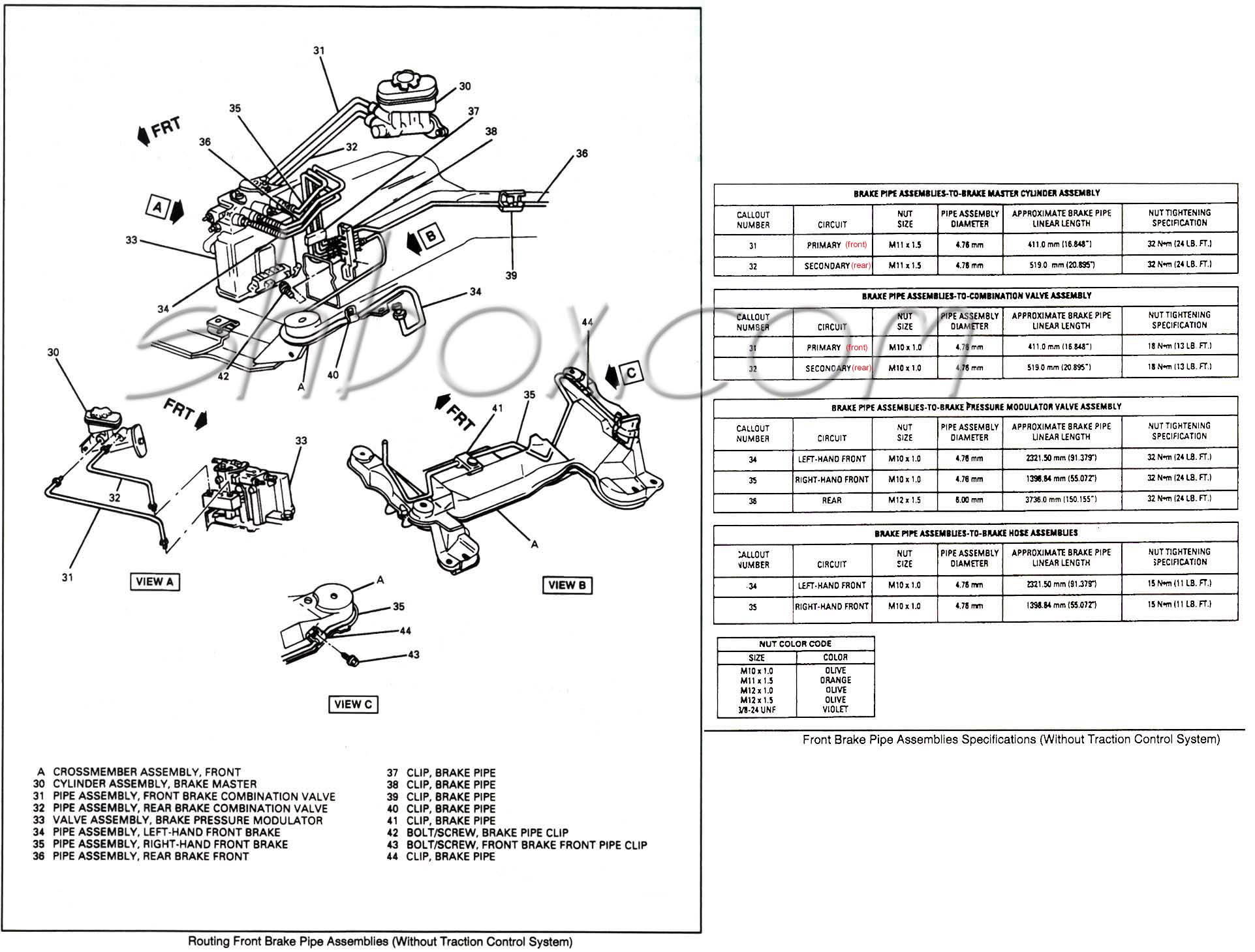 Steering Column Wiring Diagram Blazer
