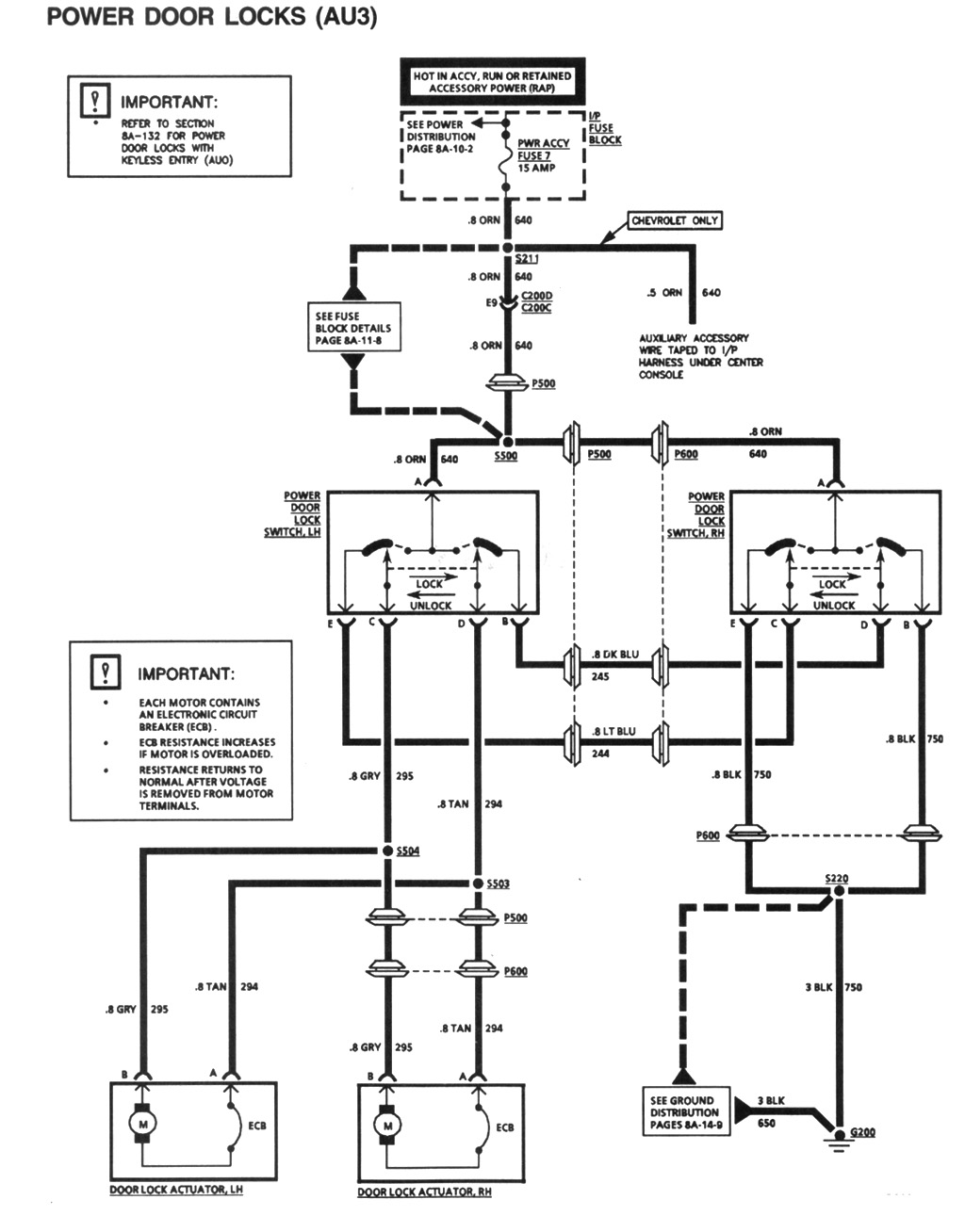 Power Door Lock Schematic Can Someone Please