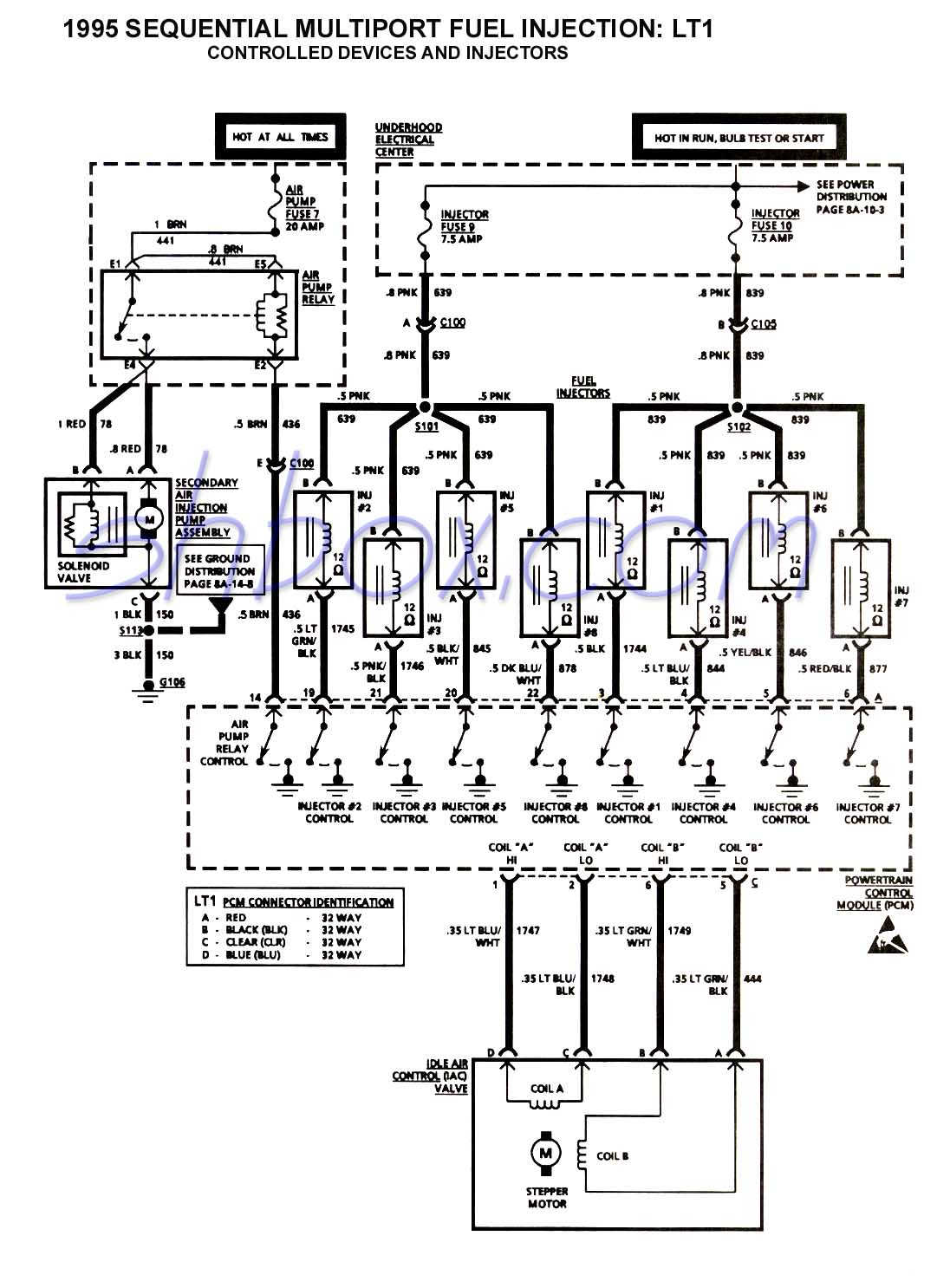 Corvette Pcm Wiring Schematic