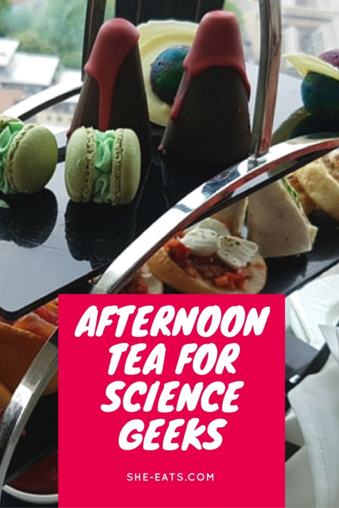 Science afternoon tea / SHE-EATS