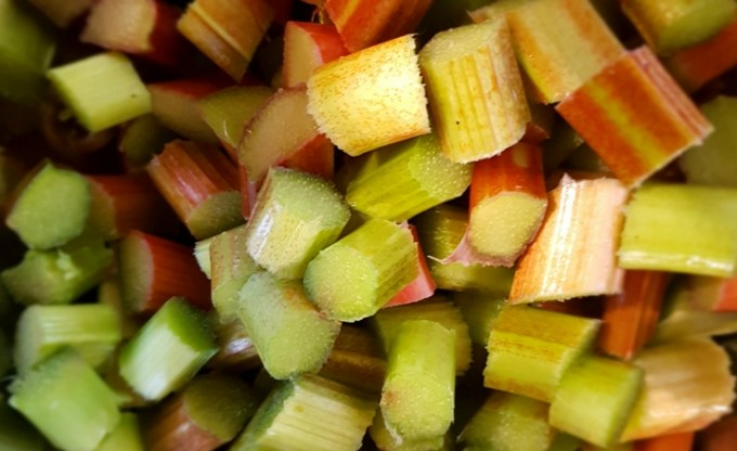 Rhubarb and Rose Jam Recipe