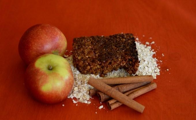 Toffee apple flapjack