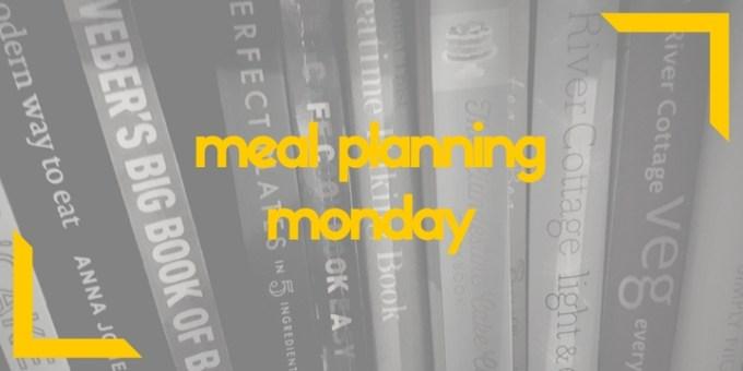Meal Planning Monday // GoodEggFoodie