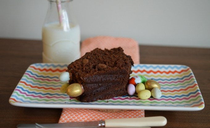 Easter Chocolate Cake Bundt // GoodEggFoodie