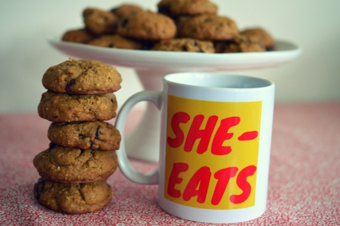 Pumpkin Spice Cookies / SHE-EATS.com