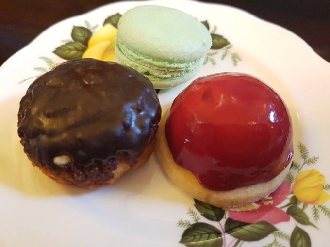 A plate of sweet pastries / The Courthouse Knutsford / Afternoon Tea / SHE-EATS
