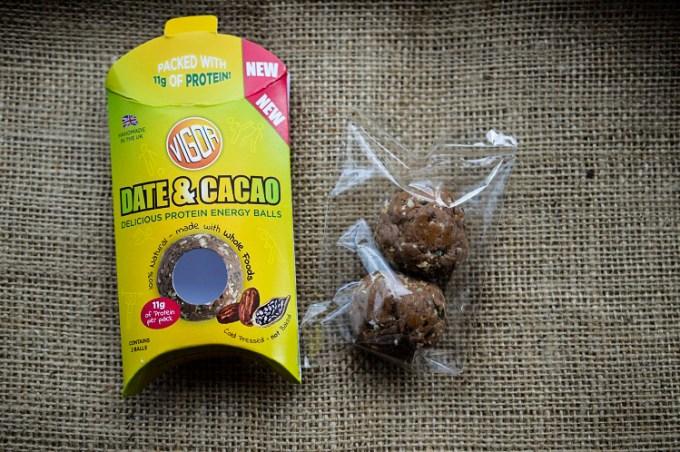 Packet of date energy balls / Vigor protein ball energy balls / SHE-EATS