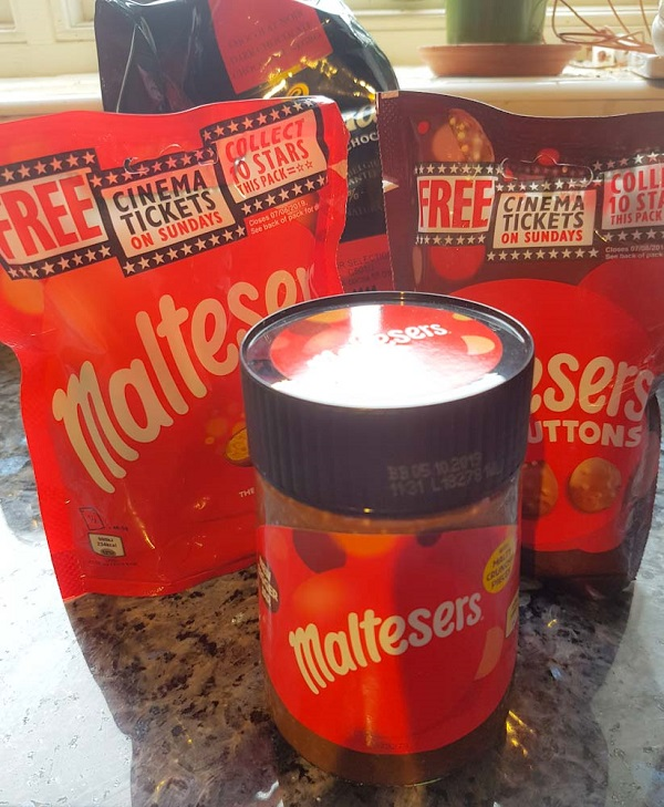 Maltesers, Maltesers buttons and Maltesers spread