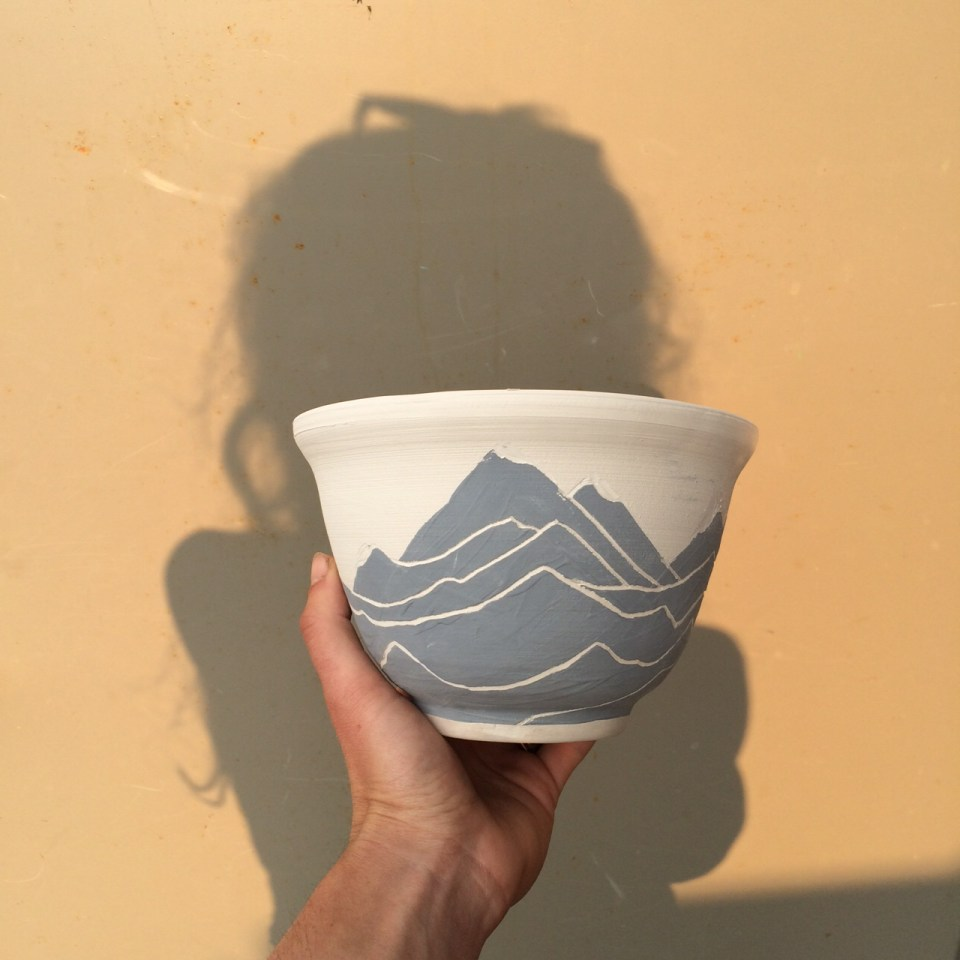 Mountain Vessel and Coco's shadow