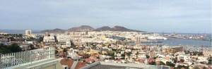 Las Palmas city and harbour