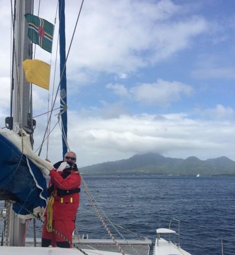 Dominica in sight
