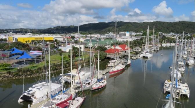 3 Wochen Whangarei und via Auckland und Hongkong nach Bayern
