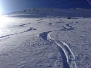 Ski mountaineering Avers Switzerland