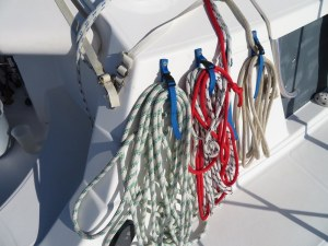 storage of ropes