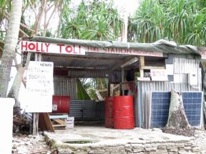 fuel station Funafuti