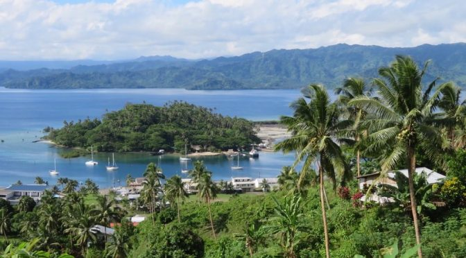 Heading north via Savusavu to Tuvalu and Kiribati