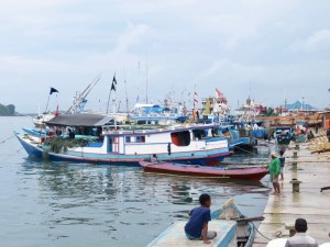 Sorong harbour
