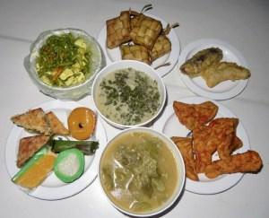 Essen vom Nachtmarkt