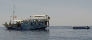 Dive boat from Azul unlimited