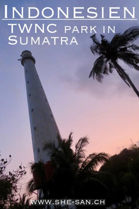 Tambling Wildlife Nature Conservation Park in Sumatra Indonesien
