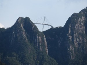 Langkawi Sky Bridge from below