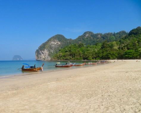 Haad Farang Charlie's beach Ko Muk