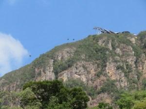 Die Skycab, gemäss ihren eigenen Angaben die steilste Gondelbahn der Welt