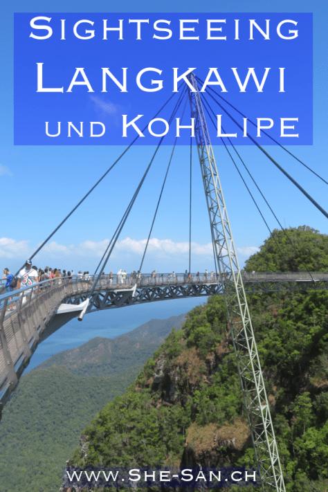 Sightseeing Langkawi und Schnorcheln in Koh Lipe