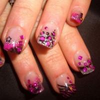 Spring Ultra Glam Romantic Nail Art