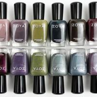 Zoya Smoke Mirrors Wide Selection of Dazzling Shades Nail Polishes 2011