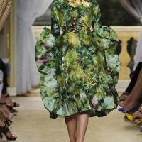 Giambattista Valli Haute Couture Green Prom Dress Collection