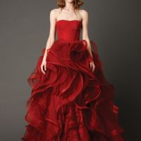 Exquisite And Marked Bridal Gown By Vera Wang