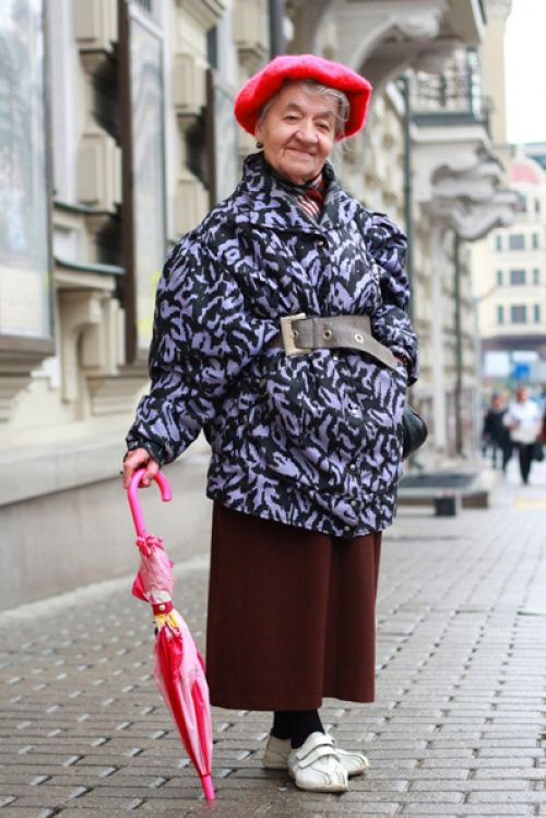 Old Women Street Style 2014 From Russia 3 She12 Girls