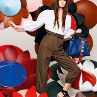 Fendi Spring Flower Bags And Clutches Collection