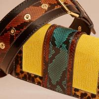 Burberry The Patchwork Bags And Purse