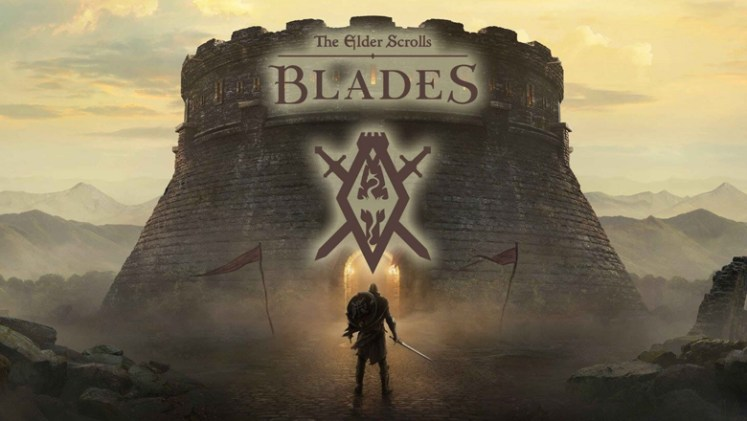 The Elder Scrolls Blades splash poster